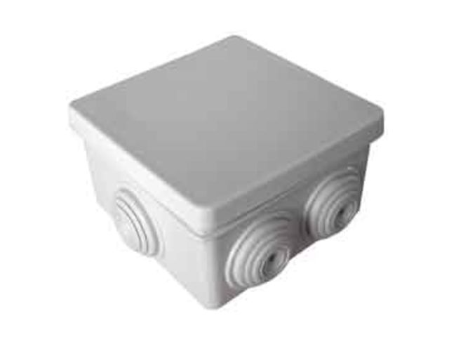 boite de d rivation tanche carr e ip 55 100 mm ref 854 contact libpromo. Black Bedroom Furniture Sets. Home Design Ideas