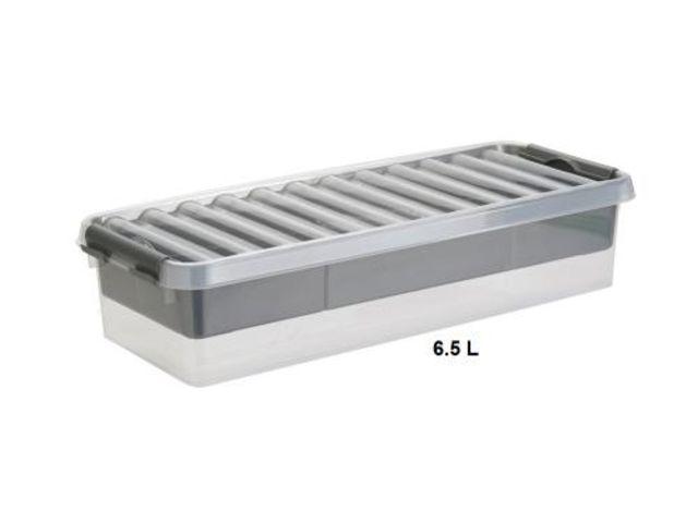 boite plastique bac de rangement de 6 litres 22 litres contact rangestock. Black Bedroom Furniture Sets. Home Design Ideas