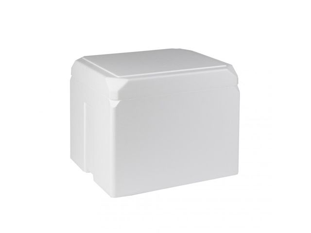 boite polystyr ne isotherme ice cube box 18 l 2 c 8 c. Black Bedroom Furniture Sets. Home Design Ideas