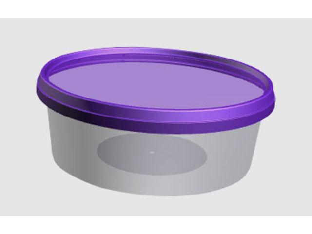boite ronde operculable en plastique inject pour vos produits glac s p t s yaourts produits. Black Bedroom Furniture Sets. Home Design Ideas
