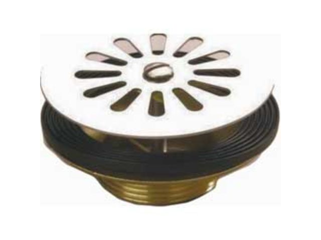 Bonde A Grille Laiton 60 Mm Pour Evier Viega Ref 123259 Contact