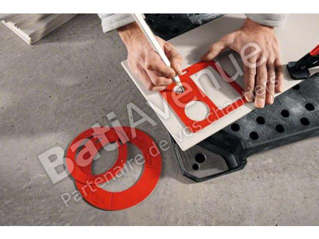 Bosch outillage fraiseuse carrelage gtr 30 ce for Outillage pour carrelage