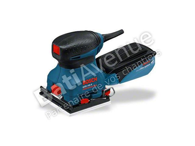 Bosch outillage ponceuse vibrante gss 140 a professional 0601297086 contact bati avenue - Ponceuse excentrique ou vibrante ...