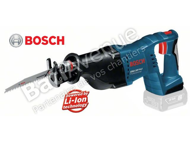 bosch outillage scie sabre sans fil gsa 18 v li. Black Bedroom Furniture Sets. Home Design Ideas