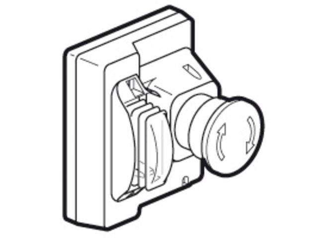 bouton arr t d 39 urgence disjoncteur moteur modulaire. Black Bedroom Furniture Sets. Home Design Ideas