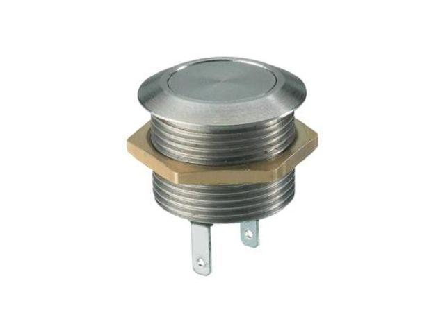 Bouton poussoir antivandalisme permanent momentan 1 x off on 12 v dc msw1801 vendu par for Combouton poussoir urinoir