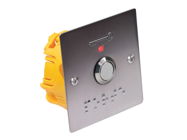 Bouton poussoir pour pmr contact sewosy for Porte handicape