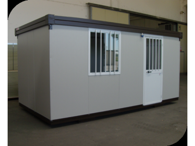Bungalow bureau container de chantier contact for Container bureau prix