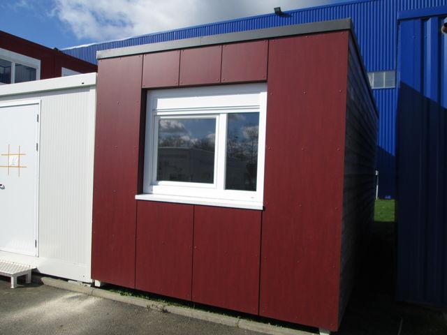 Bungalow bureau de chantier connectables contact containers solutions - Bungalow bureau de vente ...
