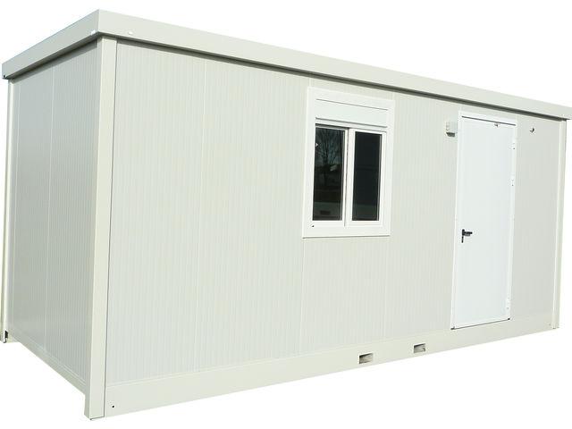 bungalow bureau de chantier connectables contact containers solutions. Black Bedroom Furniture Sets. Home Design Ideas
