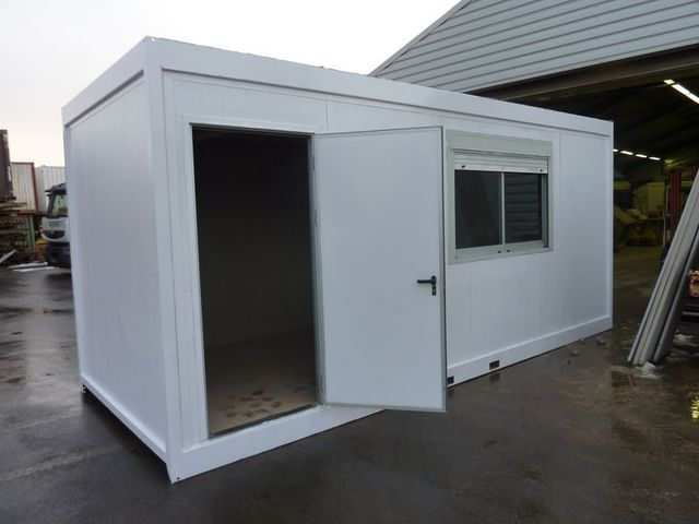 Bungalow de chantier d 39 occasion contact btmat for Container bureau prix