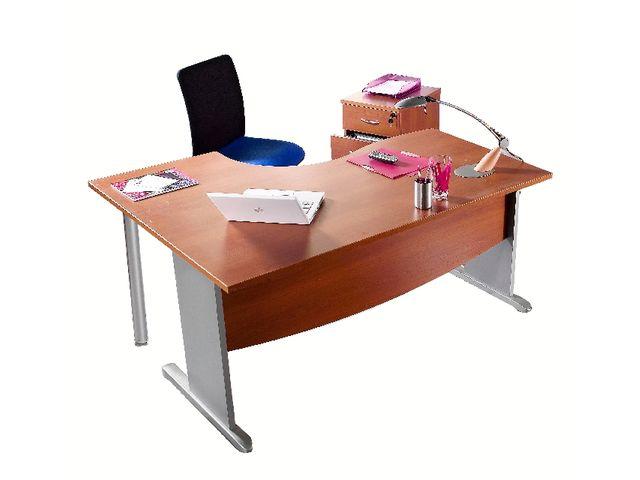 bureau asym trique mercure pieds 39 39 l 39 39 retour droite ou gauche contact manutan. Black Bedroom Furniture Sets. Home Design Ideas