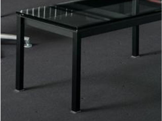 Bureau bianco nero noir contact terre design