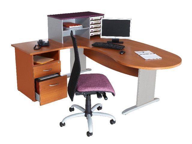 bureau convivial mercure pied panneau retour gauche ou retour droite contact manutan. Black Bedroom Furniture Sets. Home Design Ideas