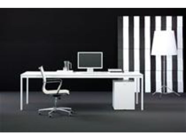 Bureau de direction : Bianco Nero Blanc_TERRE DESIGN_1