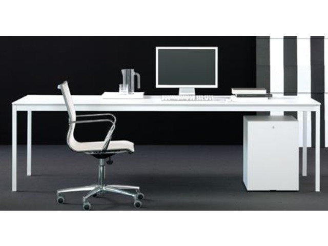 Bureau de direction : Bianco Nero Blanc_TERRE DESIGN_2