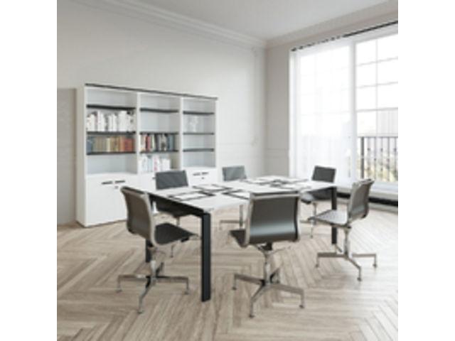 Bureau de direction design by olivier lapidus black and white