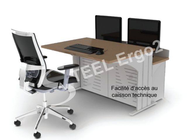 Bureau de supervision multimédia contact steelnovel