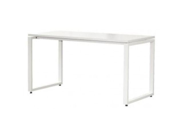 bureau droit blanc 120 cm contact mon bureau et moi. Black Bedroom Furniture Sets. Home Design Ideas