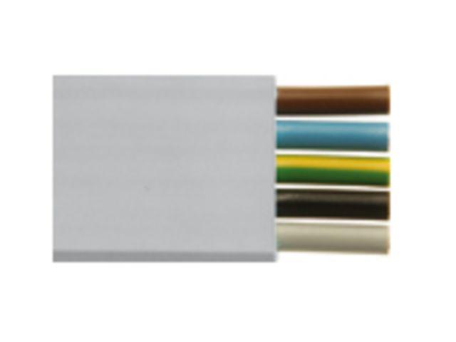 C ble plat woertz power ip 5g6 mm contact woertz - Cable electrique plat ...