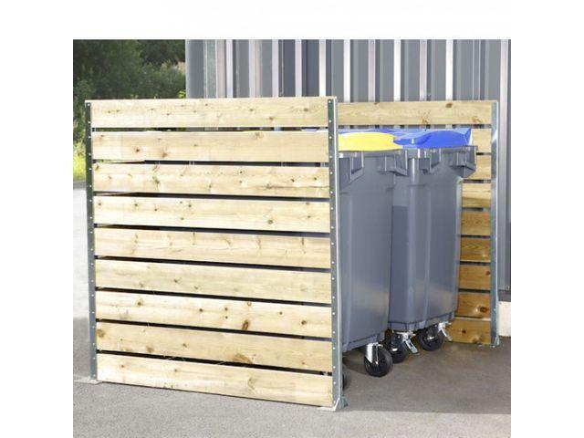 Comparatif accessoires pour mat riel de collecte des d chets - Cache conteneur poubelle ...