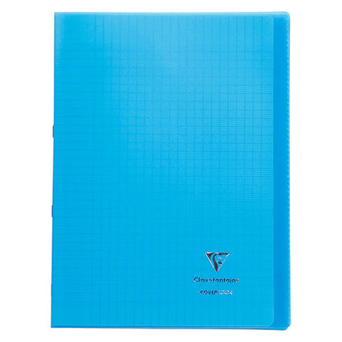 Cahier Koverbook Clairefontaine 21 x 29,7 cm grand carreaux 96 pages