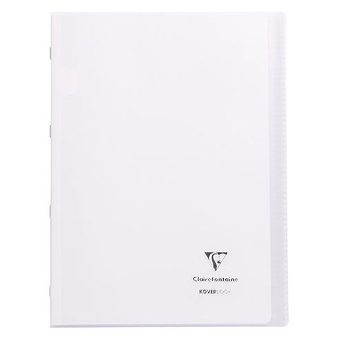 Devis Cahier Koverbook Clairefontaine 21 x 29,7 cm grand carreaux 96 pages