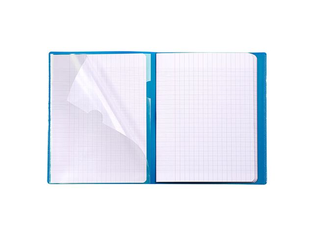 Cahier Koverbook Clairefontaine 21 x 29,7 cm grand carreaux 96 pages - MAXIBURO