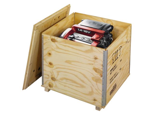 Caisse En Bois Pour Transport - Caisse bois contreplaqué avec chevrons RAJABOX Contact RAJA