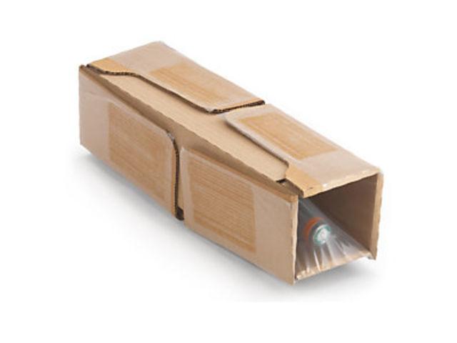 caisse carton brune d 39 exp dition pour bouteilles avec calage film int gr contact raja. Black Bedroom Furniture Sets. Home Design Ideas