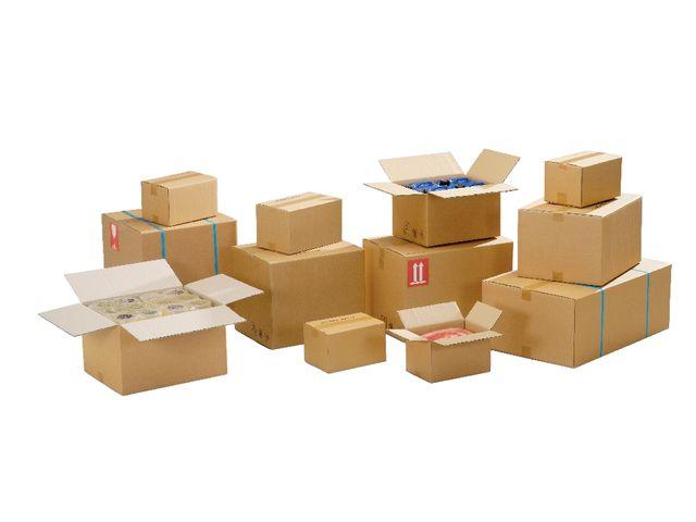 caisse carton double cannelure longueur 200 450 mm contact manutan collectivites. Black Bedroom Furniture Sets. Home Design Ideas