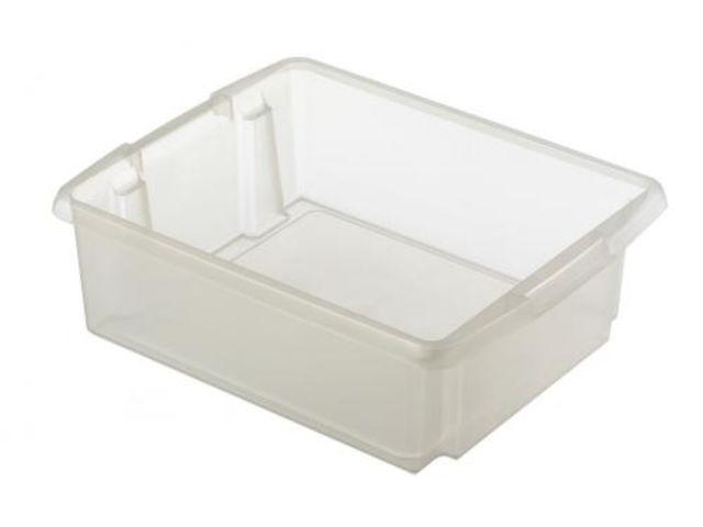 design de qualité 6fca8 b0cdd Caisse de rangement plastique transparent 30 litres