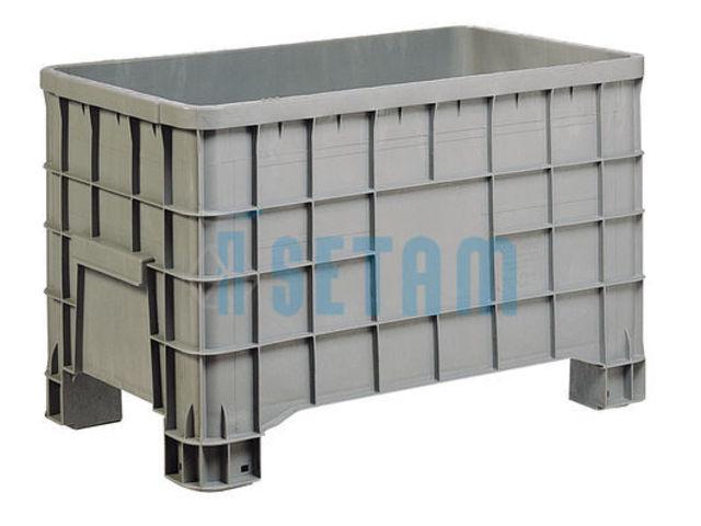 caisse palette palox plastique 280 litres alimentaire contact setam rayonnage et mobilier. Black Bedroom Furniture Sets. Home Design Ideas