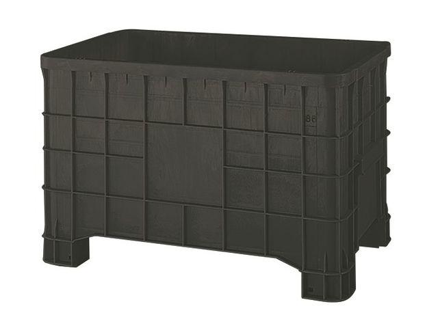 caisse palette pas cher plastique 280 litres contact setam rayonnage et mobilier professionnel. Black Bedroom Furniture Sets. Home Design Ideas