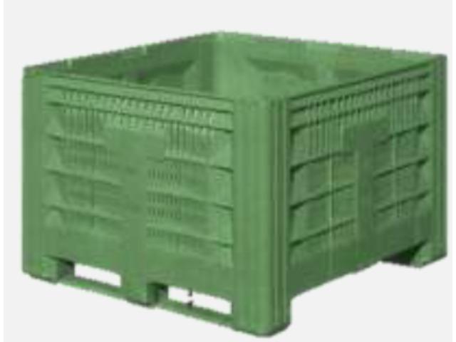 plus récent 1b465 15eef Caisse palette plastique ajourée 1200*1200 : 120FQA