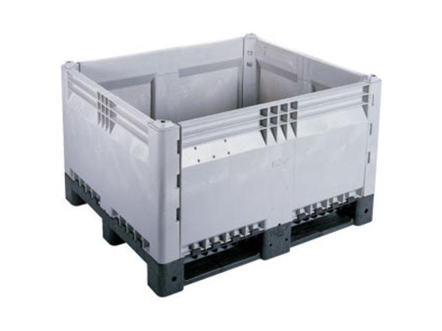 caisse palette plastique d montable contact orexad. Black Bedroom Furniture Sets. Home Design Ideas
