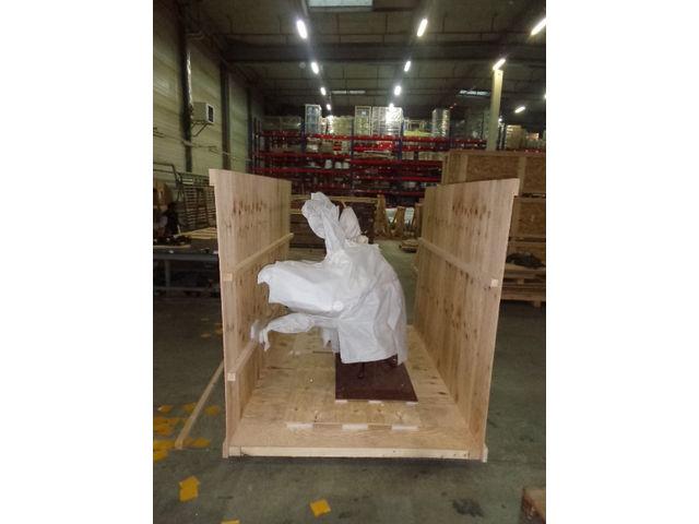 Caisse palette sur mesure pour transport de produits for Canisse sur mesure
