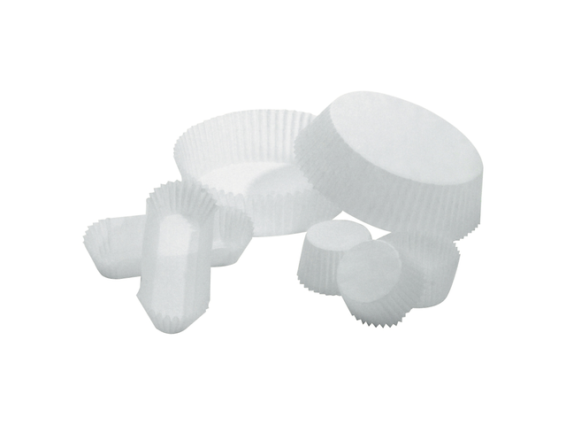 caissette p tisserie en papier pliss blanche contact raja. Black Bedroom Furniture Sets. Home Design Ideas
