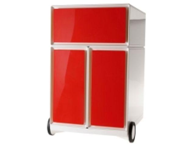 Caisson mobile easy box 1 tiroir 2 pour dossiers suspendus contact axess industries - Caisson 2 tiroirs dossiers suspendus ...