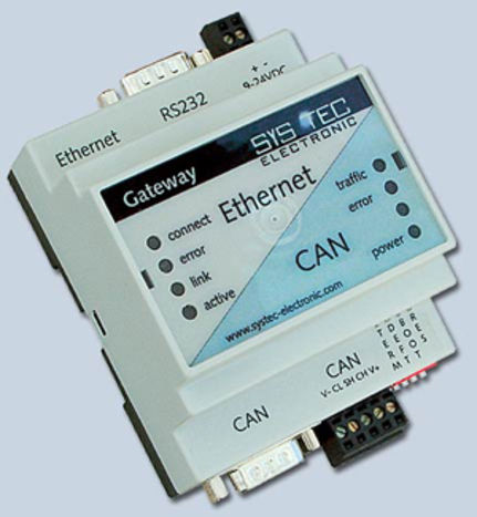 Ethernet Gateway on Can Bus Wlan   Ethernet Gateway Can2web Advanced