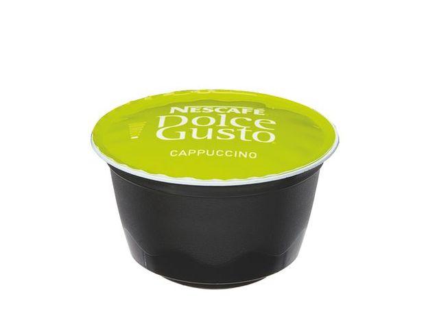 cappuccino nescaf en dosette pour dolce gusto bo te de 16 contact maxiburo. Black Bedroom Furniture Sets. Home Design Ideas
