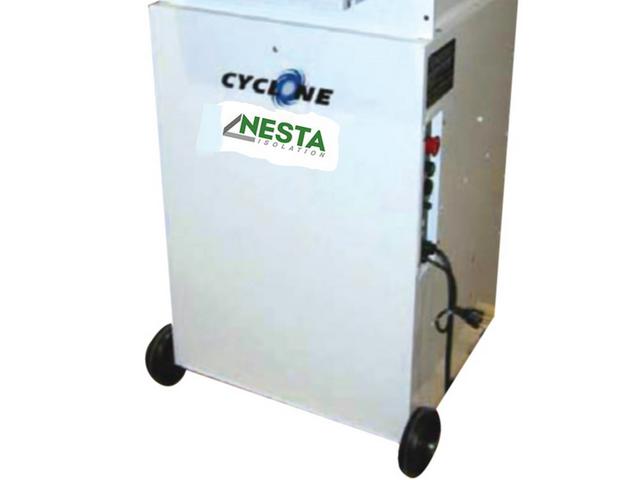 cardeuse / machine à souffler cyclone - ouate de cellulose, laine