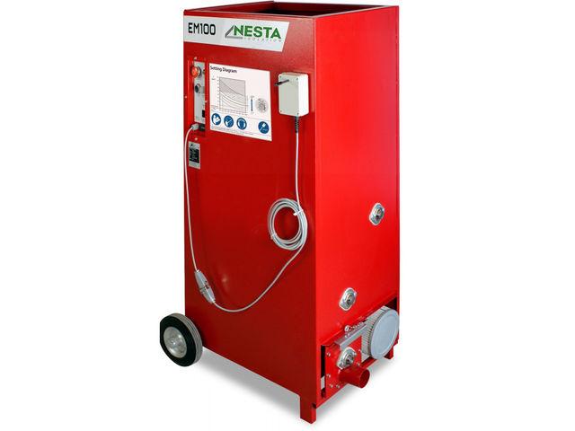 Cardeuse Machine A Souffler Insuffler M99 Ouate De Cellulose Laine De Verre Contact Nesta Equipement