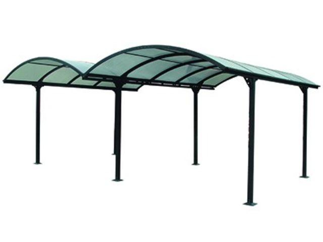 carport double en aluminium id2382 contact france abris. Black Bedroom Furniture Sets. Home Design Ideas