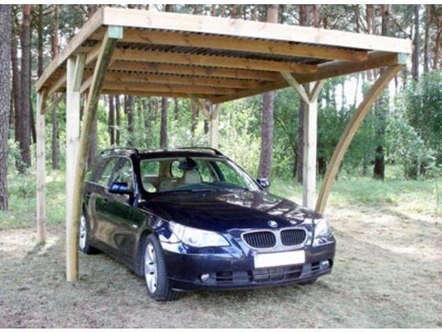 carport simple toit plat avec arc id572 contact france abris. Black Bedroom Furniture Sets. Home Design Ideas