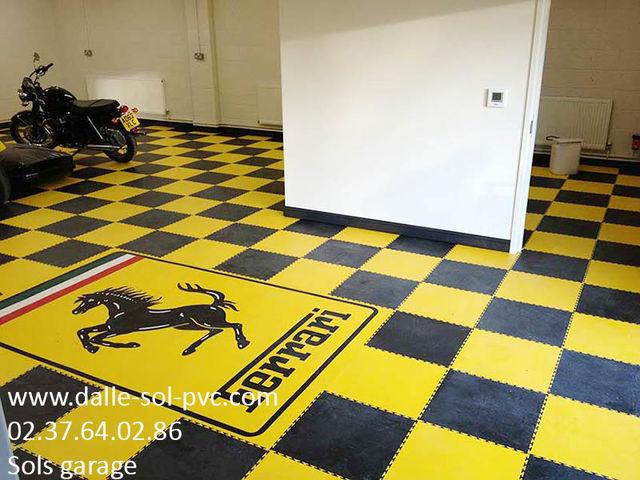 Carrelage Special Garage Contact Dalle Sol Pvc Com Une Activité