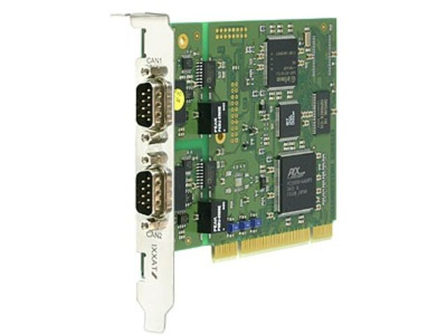 Carte d'interface CAN active - PCI - iPC-I XC16/PCI