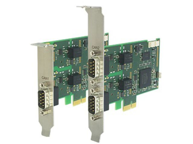 Carte d'interface CAN active - PCIe- CAN-IB200/PCIe