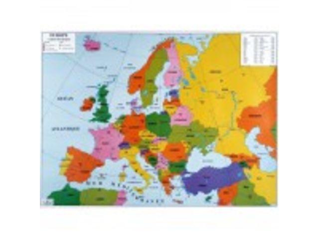 carte europe annees 80