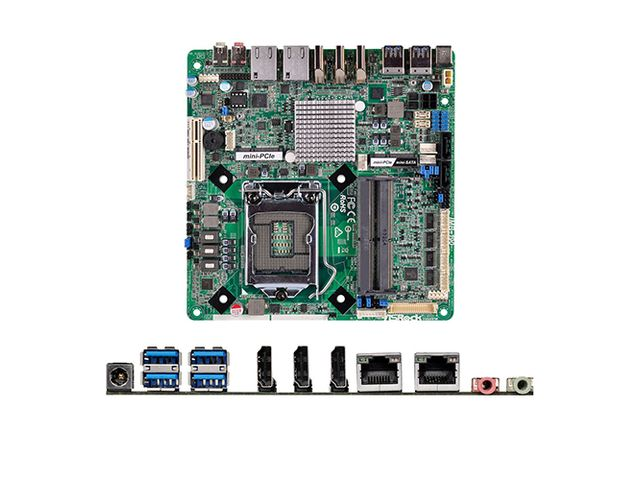 Cartes PC Industriels : Cartes Formats Mini-ITX - STELIAU TECHNOLOGY
